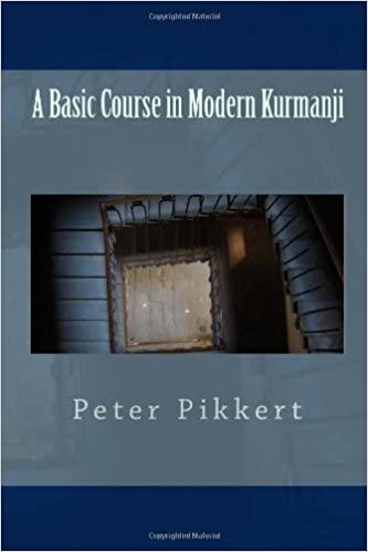 A Basic Course in Modern Kurmanji