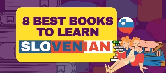 8 Best books to learn slovenian